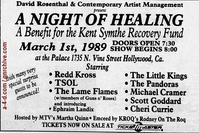 1989.02.24 - L.A. Weekly - [Guns N' Roses members at benefit show] 1989_017