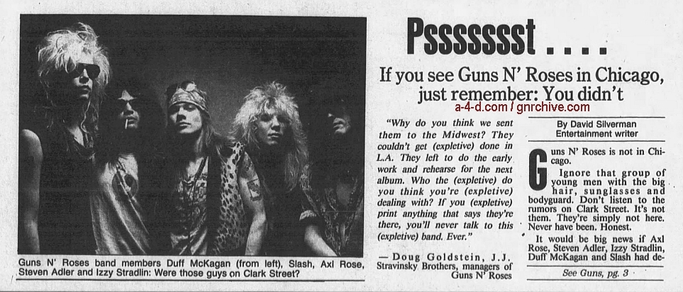 1989.06.26 - Chicago Tribune - If You See Guns N' Roses In Chicago, Just Remember: You Didn't 1989_021