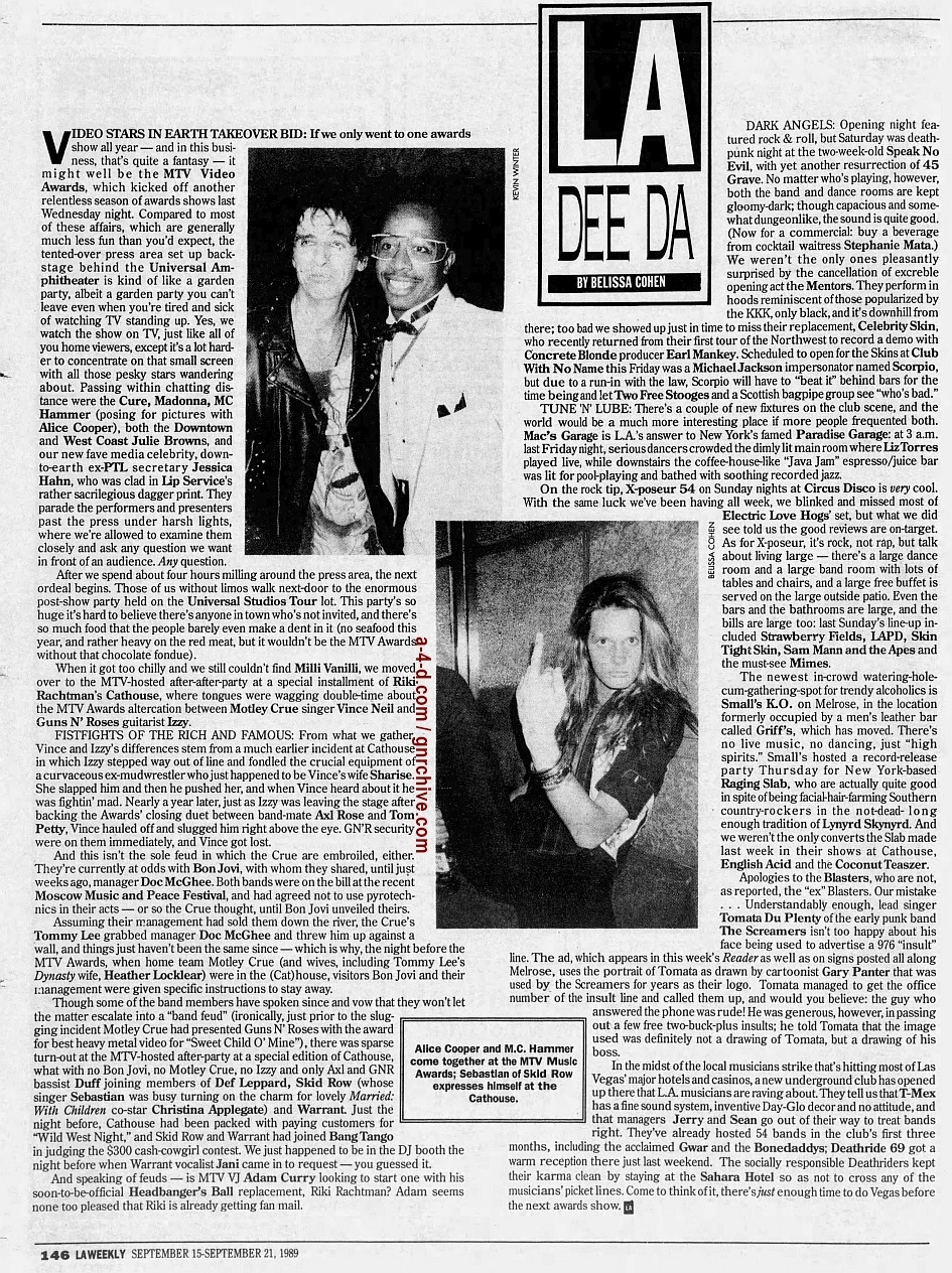 1989.09.15 - L.A. Weekly - L.A. Dee Da [MTV Awards] 1989_024