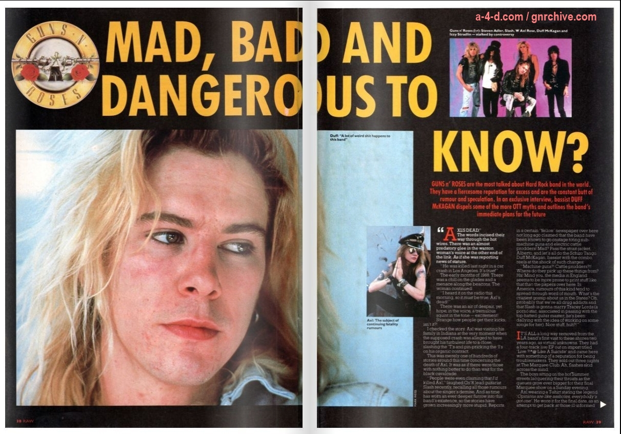 1989.07.28 - Raw Magazine - Mad, Bad and Dangerous To Know? (Duff) 1989_043