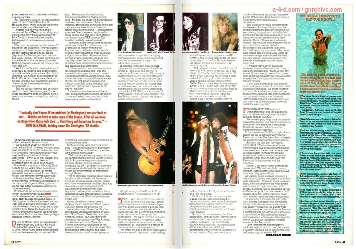 1989.07.28 - Raw Magazine - Mad, Bad and Dangerous To Know? (Duff) 1989_044