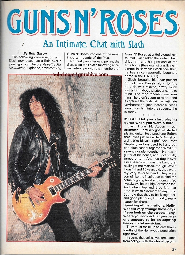 1989.10.DD - Creem Close-Up Metal - Guns N' Roses: An intimate chat with Slash 1989_119