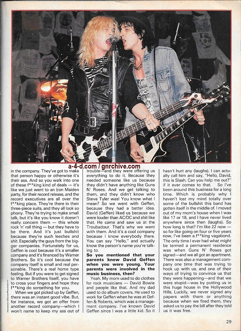 1989.10.DD - Creem Close-Up Metal - Guns N' Roses: An intimate chat with Slash 1989_121