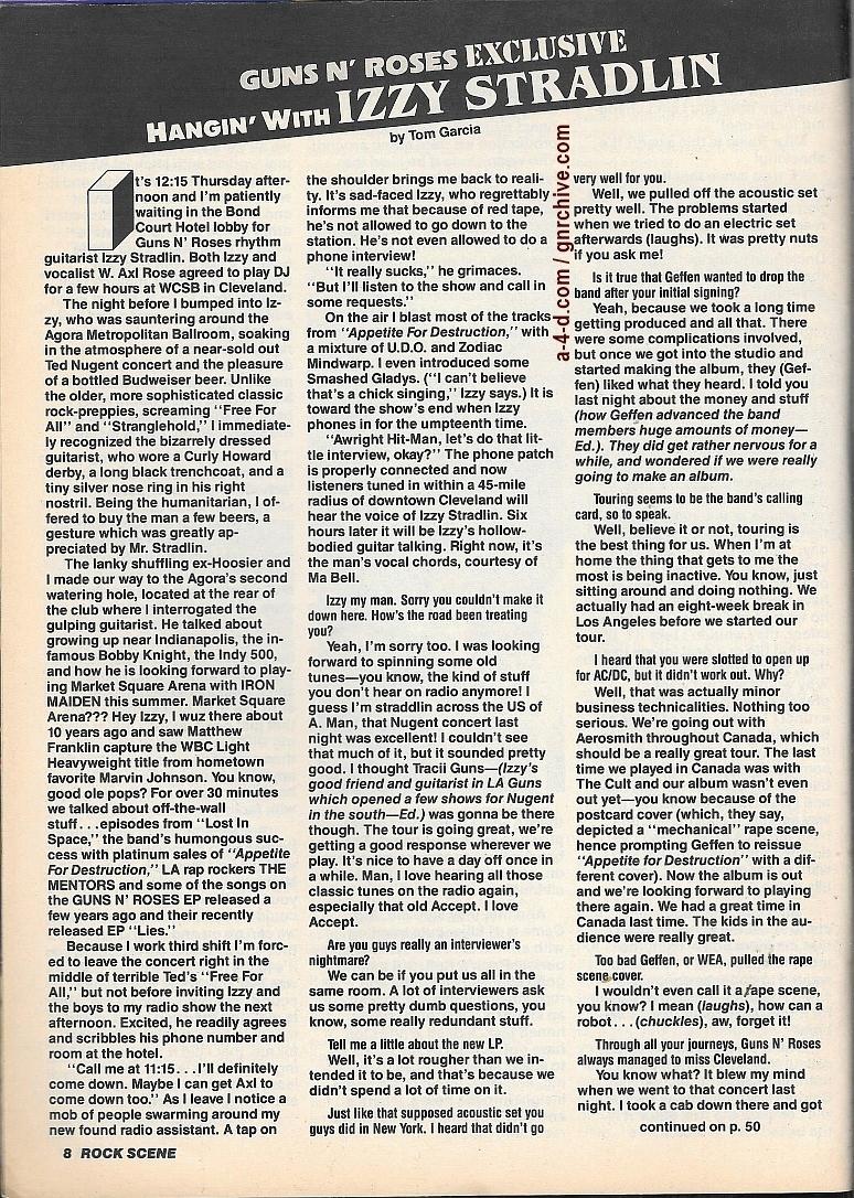 1989.12.DD - Rock Scene - Hangin' with Izzy Stradlin 1989_125