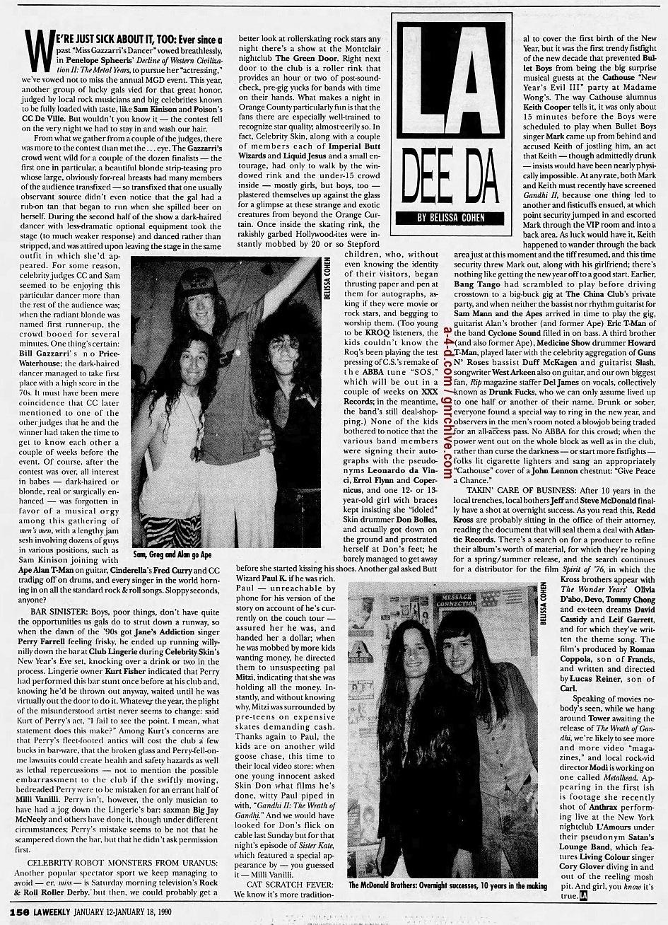 1990.01.12 - L.A. Weekly - L.A. Dee Da [Drunk Fux] 1990_018
