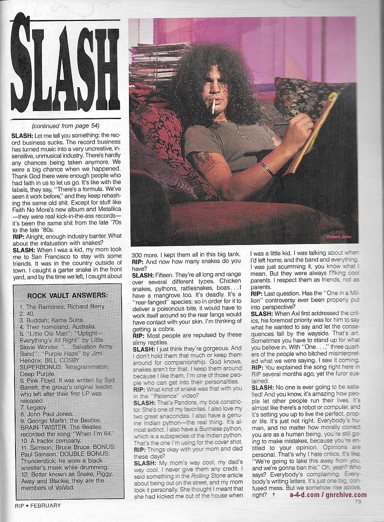 1990.02.DD - RIP Magazine - Slash: Under The Black Hat 1990_026
