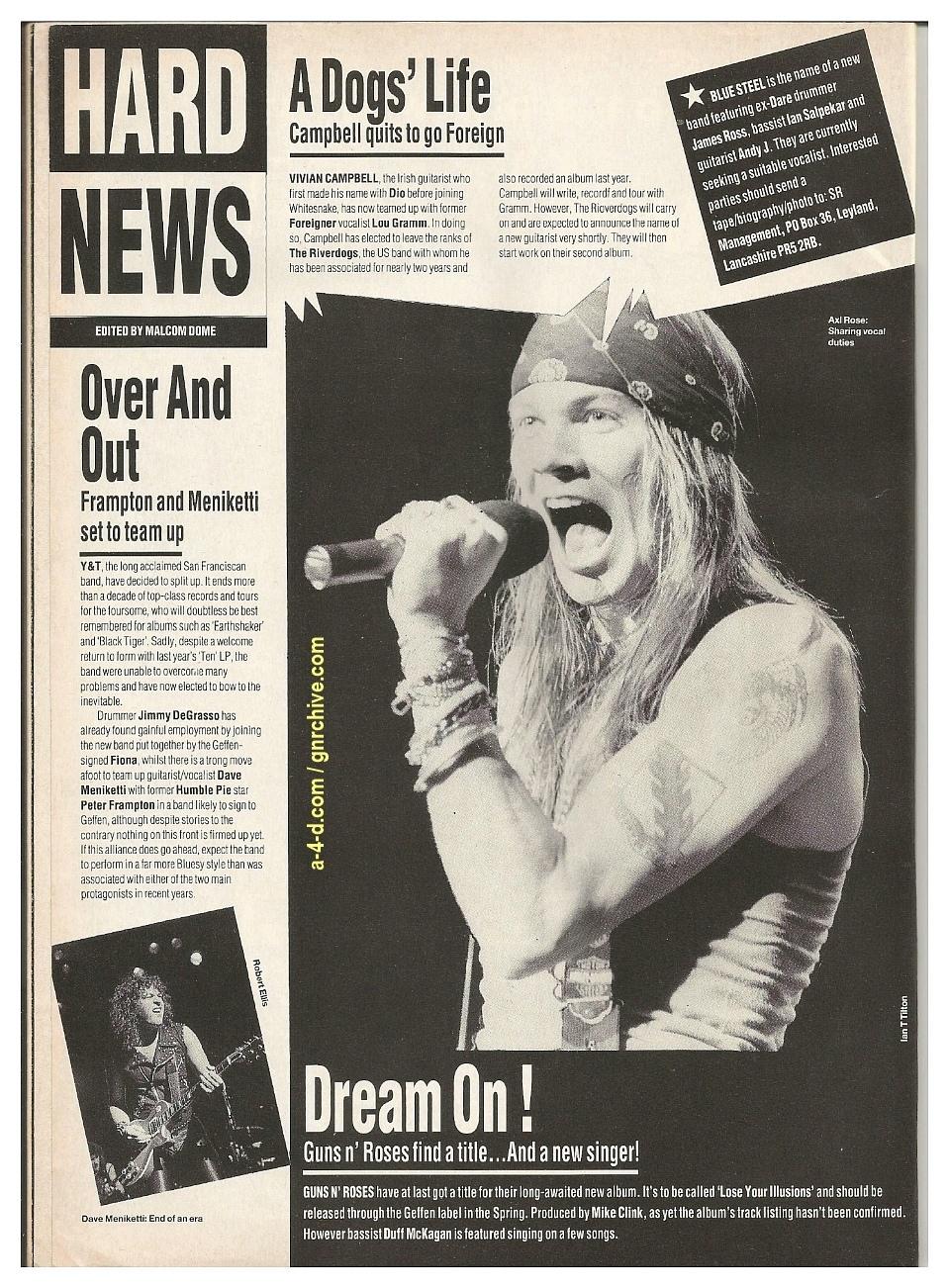 1991.01.09 - RAW - Dream On! 1991-010