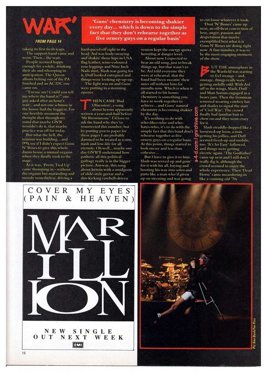 1991.05.09 - Warfield Theatre, San Francisco, USA 1991-016