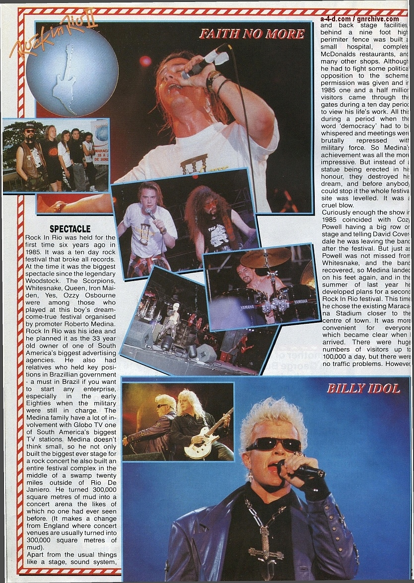 1991.02.25 - Metal Hammer - Rock In Rio II: Priest N' Guns On Top In Brazil 1991-023