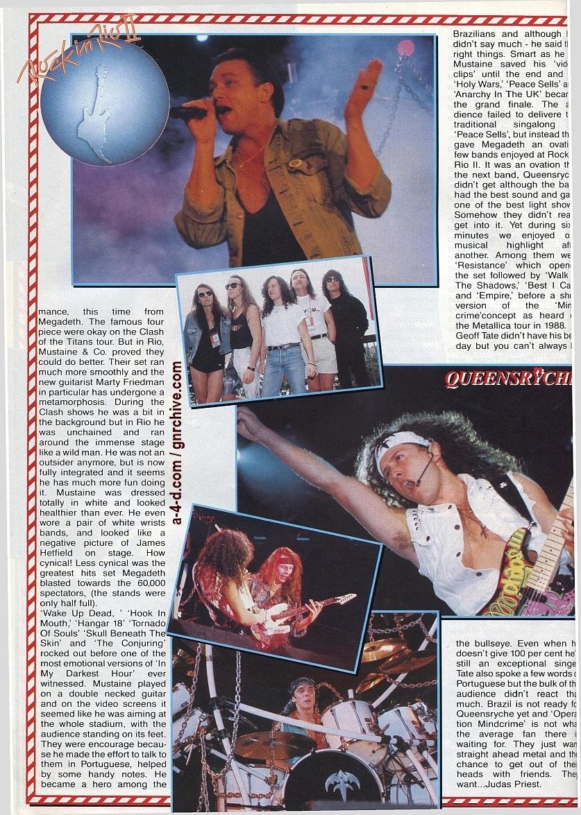 1991.02.25 - Metal Hammer - Rock In Rio II: Priest N' Guns On Top In Brazil 1991-024