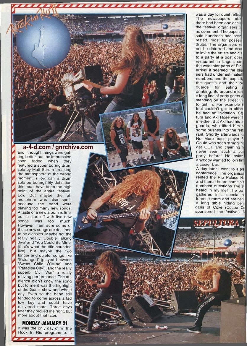 1991.02.25 - Metal Hammer - Rock In Rio II: Priest N' Guns On Top In Brazil 1991-026