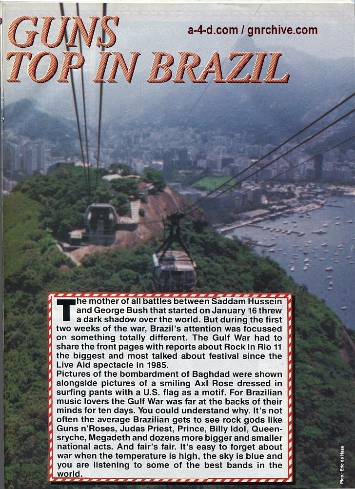 1991.02.25 - Metal Hammer - Rock In Rio II: Priest N' Guns On Top In Brazil 1991-027