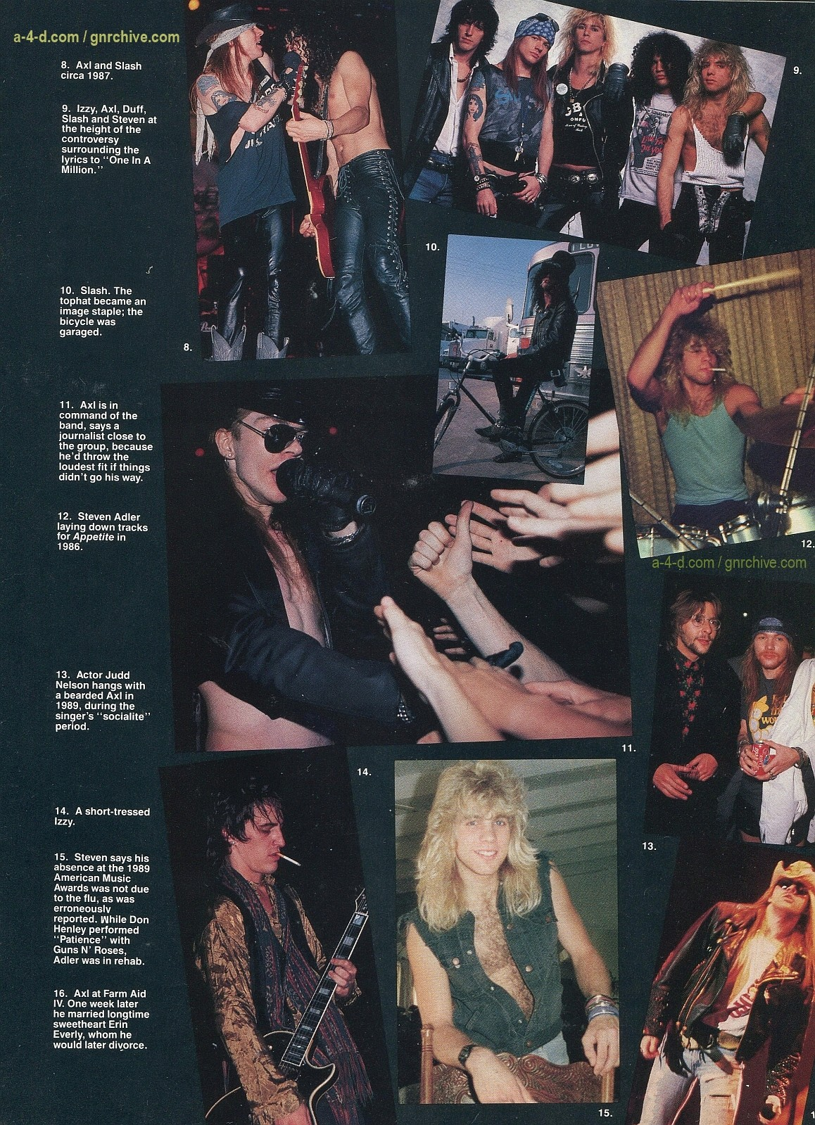 1991.10.31 - Circus - Axl Rose mocked/Fightin' words from Vince Neil 1991-116