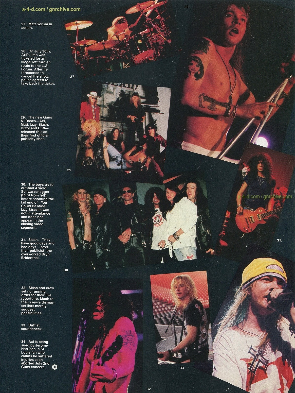 1991.10.31 - Circus - Axl Rose mocked/Fightin' words from Vince Neil 1991-117