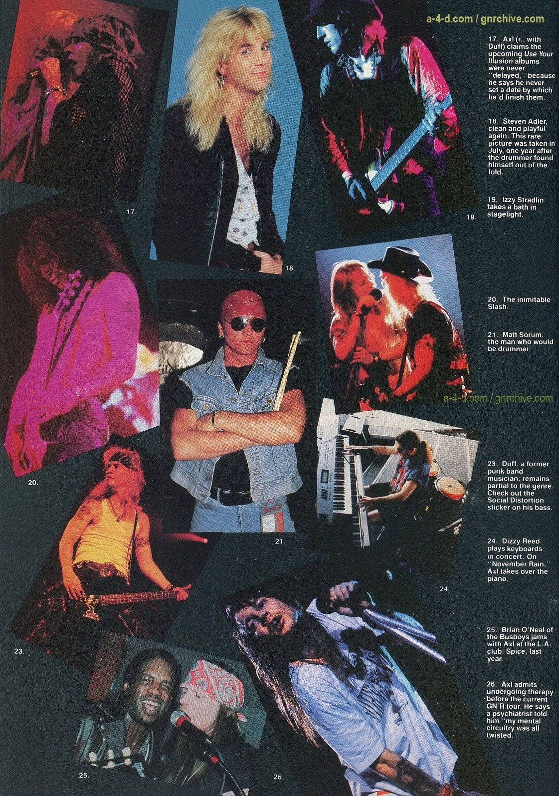 1991.10.31 - Circus - Axl Rose mocked/Fightin' words from Vince Neil 1991-118