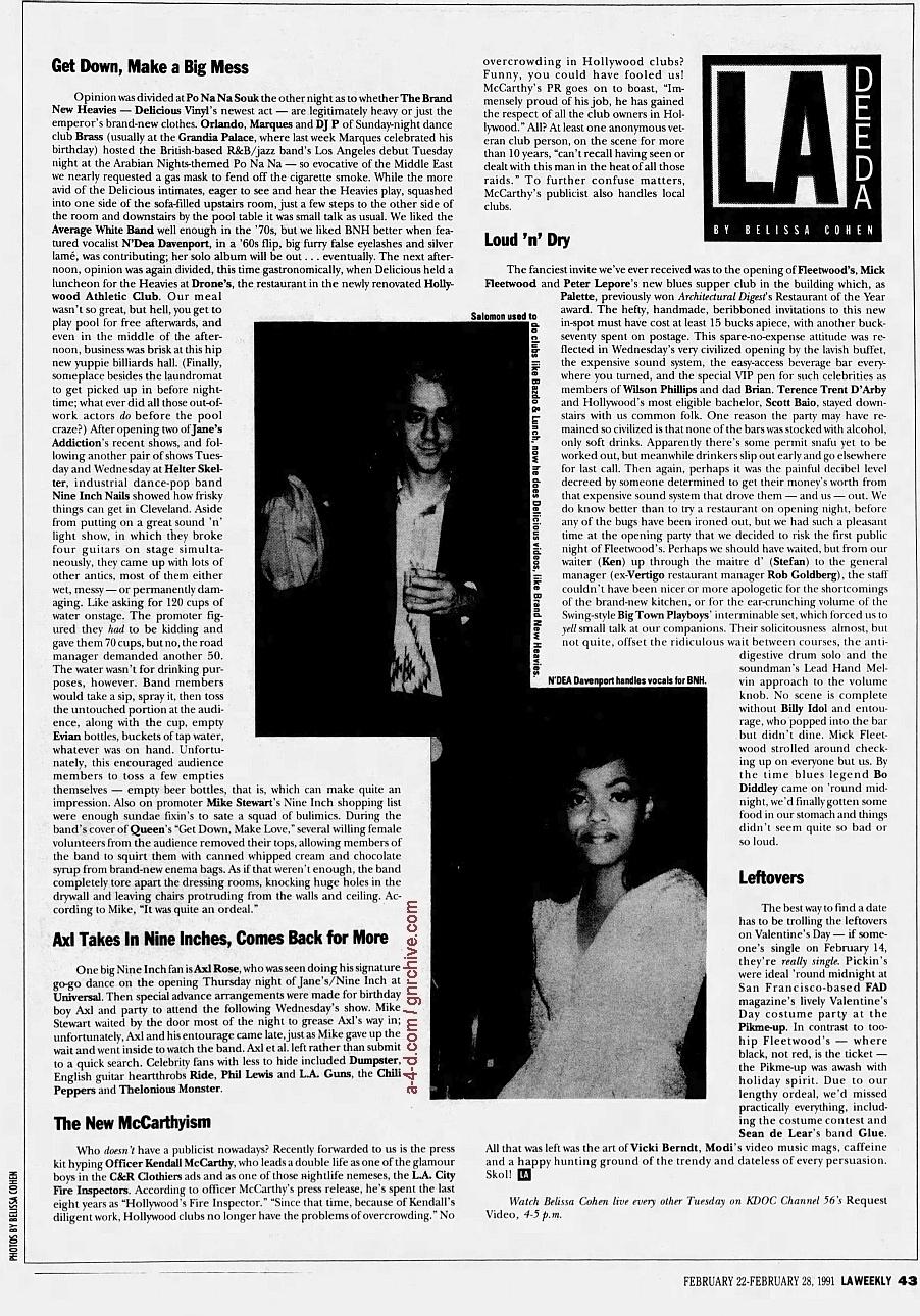 1991.02.22 - L.A. Weekly - L.A. Dee Da (Axl) 1991_022