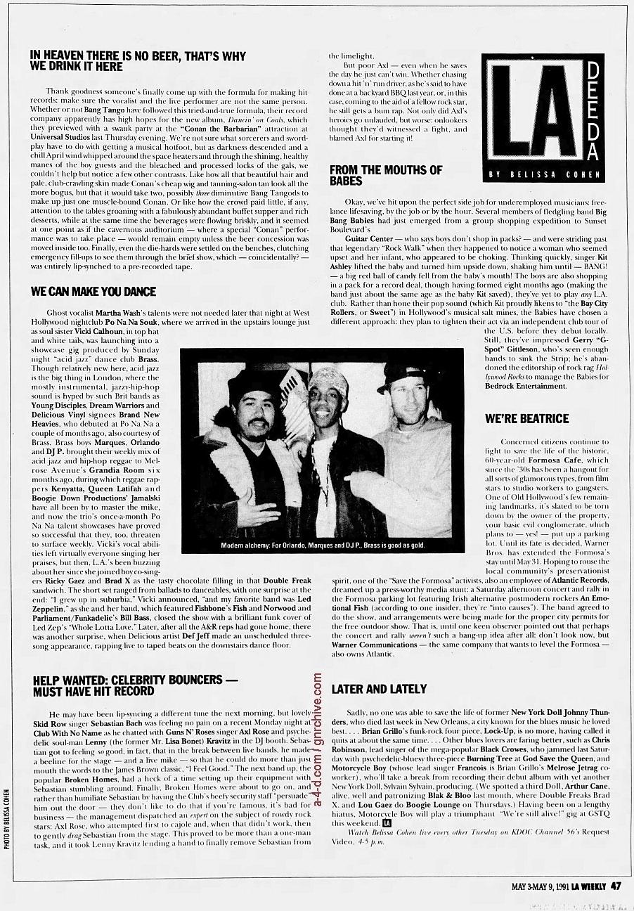 1991.05.03 - L.A. Weekly - L.A. Dee Da (Axl) 1991_027