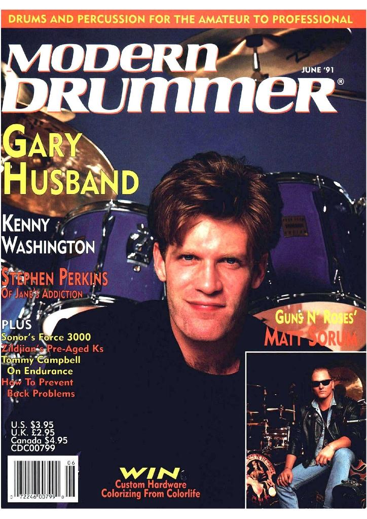 1991.06.DD - Modern Drummer - Matt Sorum: Guns N' Roses' New Stickman 1991_035