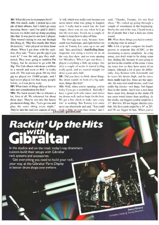 1991.06.DD - Modern Drummer - Matt Sorum: Guns N' Roses' New Stickman 1991_040
