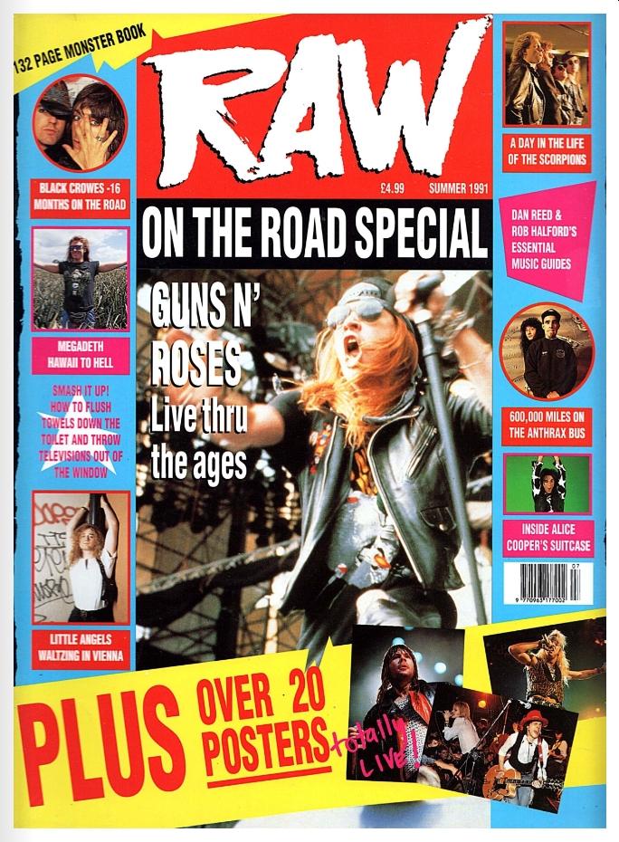 1991.06.DD - RAW - Guns N' Roses: Live Thru The Ages! 1991_051