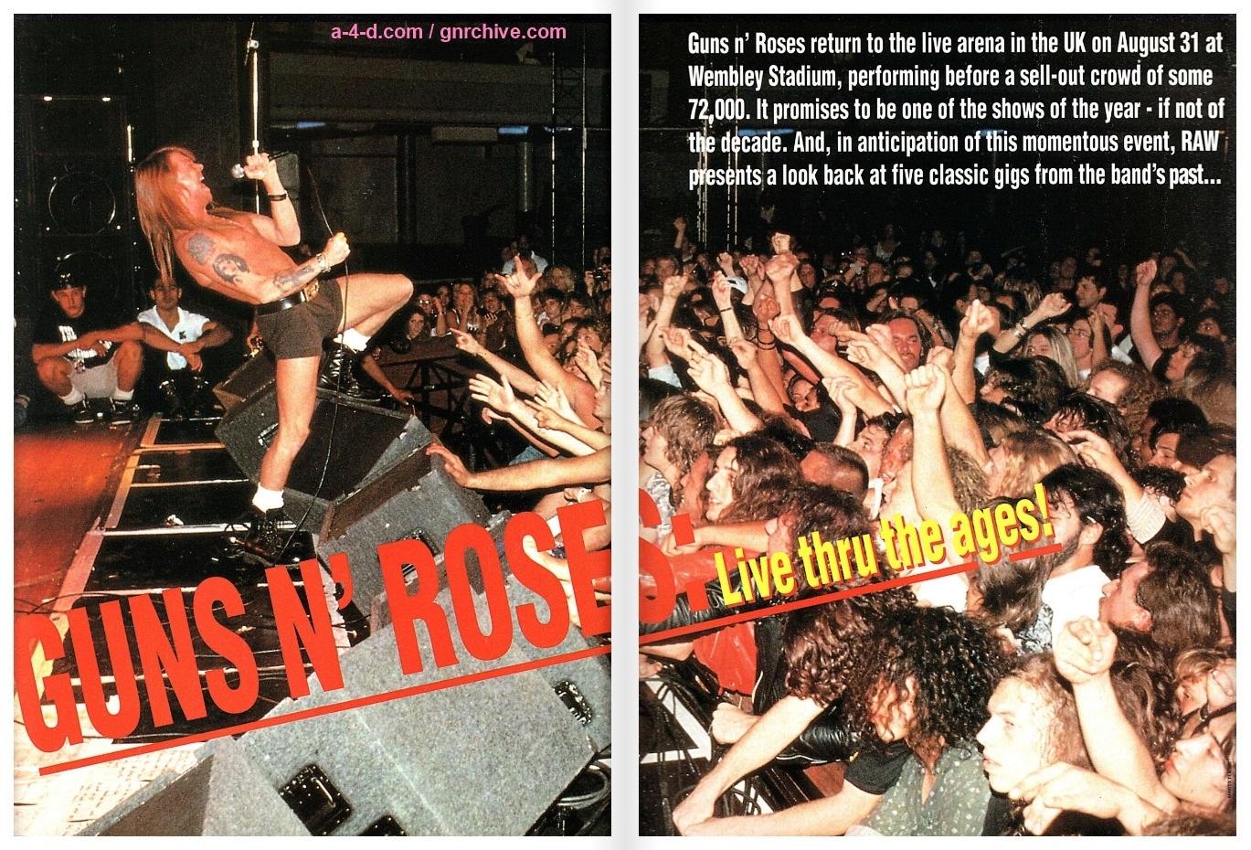 1991.06.DD - RAW - Guns N' Roses: Live Thru The Ages! 1991_053