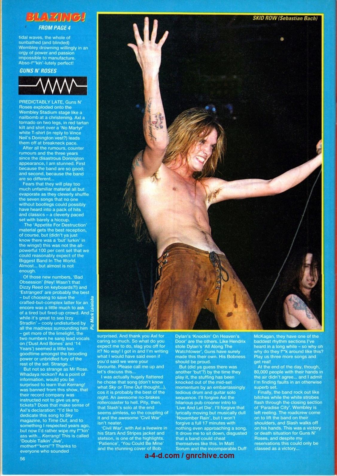1991.08.31 - Wembley, London, England 1991_061