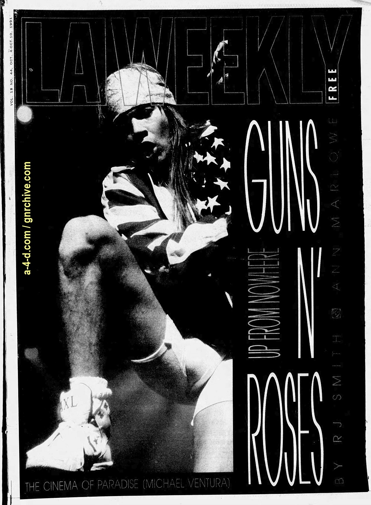 1991.10.04 - L.A. Weekly - Guns N' Roses: Up From Nowhere 1991_113
