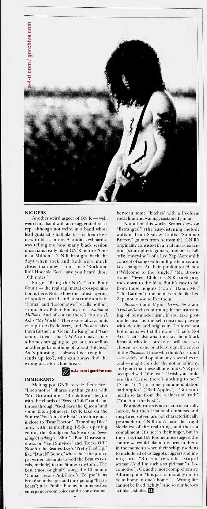 1991.10.04 - L.A. Weekly - Guns N' Roses: Up From Nowhere 1991_118