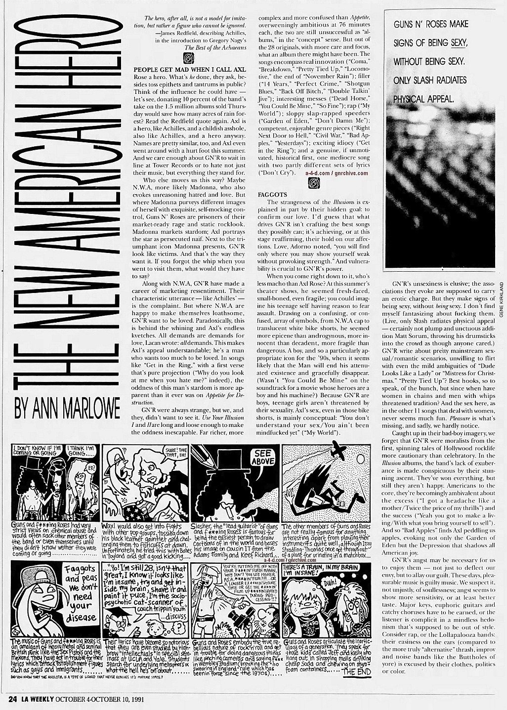 1991.10.04 - L.A. Weekly - Guns N' Roses: Up From Nowhere 1991_119