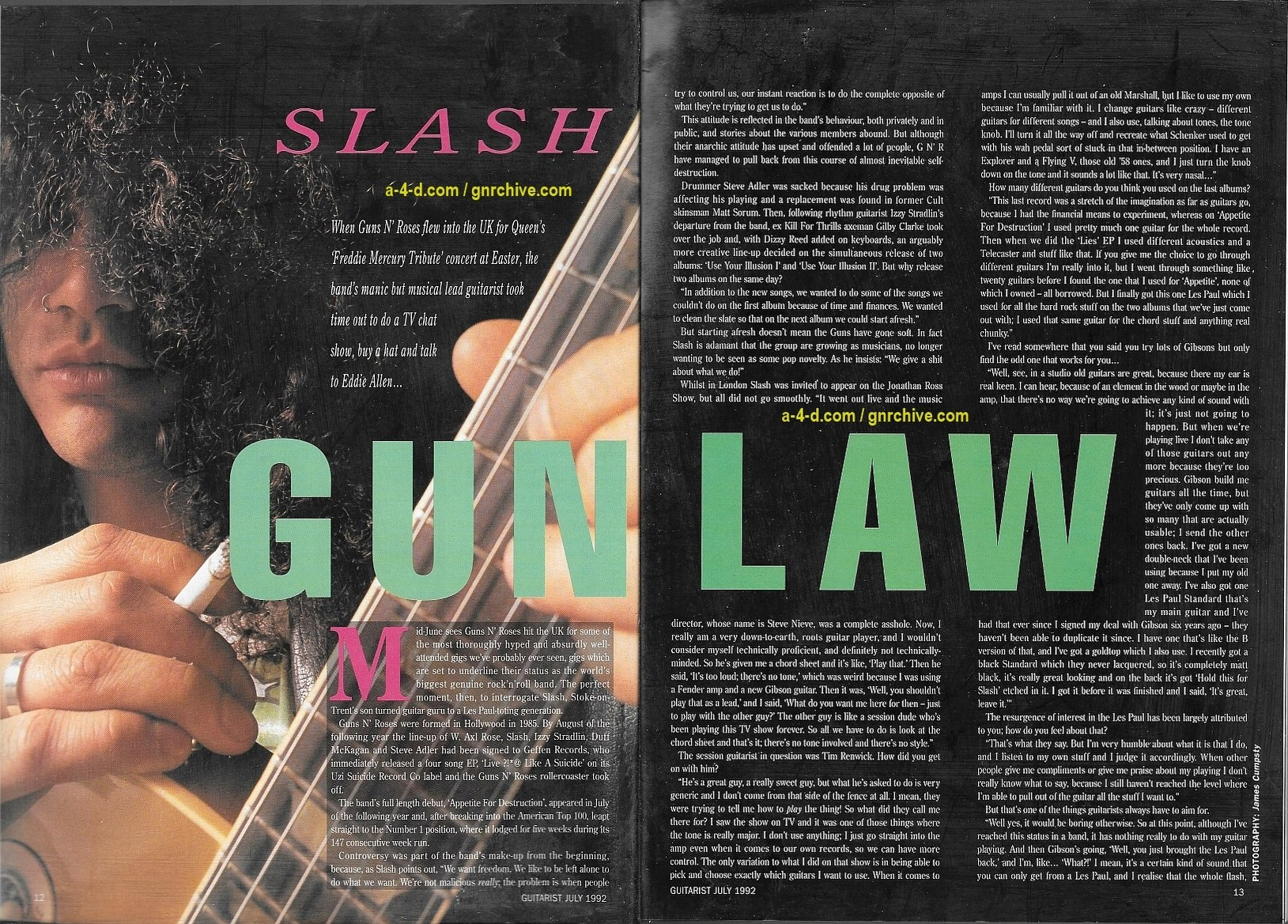 1992.07.DD - Guitarist Magazine - Gun Law (Slash) 1992_025