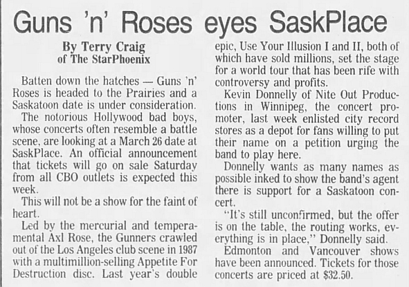 1993.03.26 - Saskatchewan Place, Saskatoon, Canada 1992_121