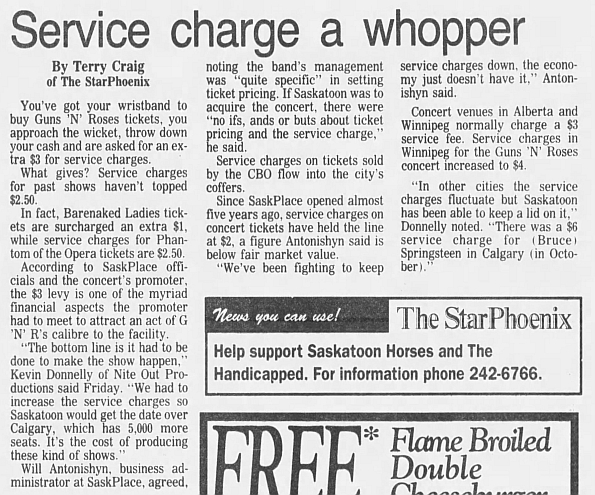 1993.03.26 - Saskatchewan Place, Saskatoon, Canada 1992_124
