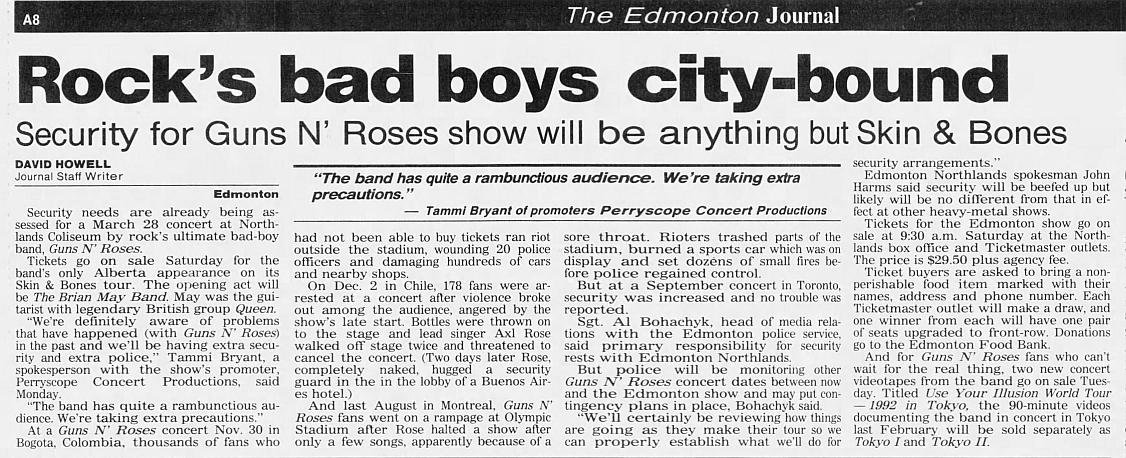 1993.03.28 - Northlands Coliseum, Edmonton, Canada 1992_128