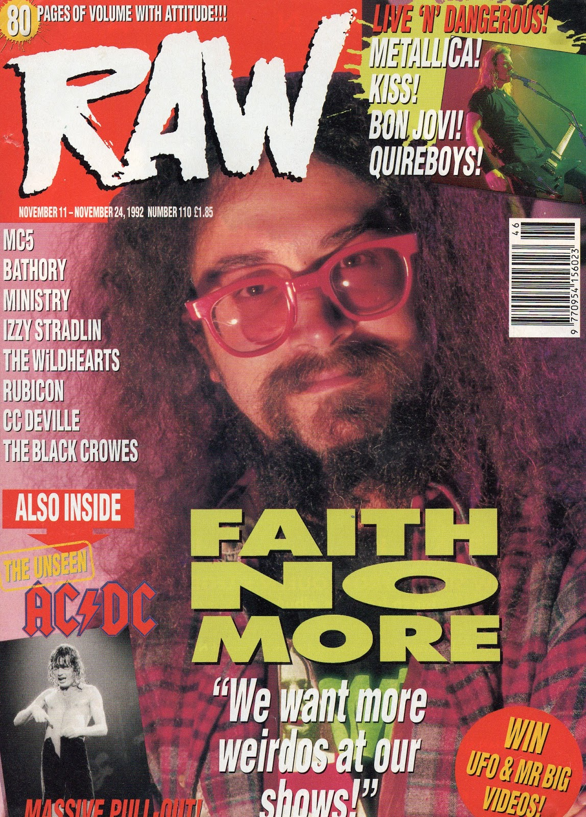 1992.11.11 - RAW Magazine - Interview with Izzy 1992_136