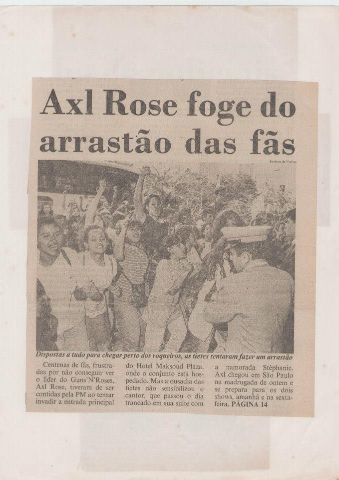 1992.12.10 - Estacionamento Do Anhenbi, Sao Paulo, Brazil 1992_138