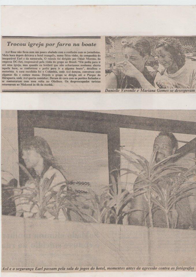 1992.12.10 - Estacionamento Do Anhenbi, Sao Paulo, Brazil 1992_140