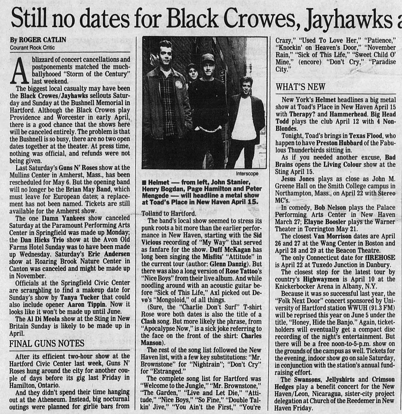 1993.03.09 - Hartford Civic Center, Hartford, USA 1993_015