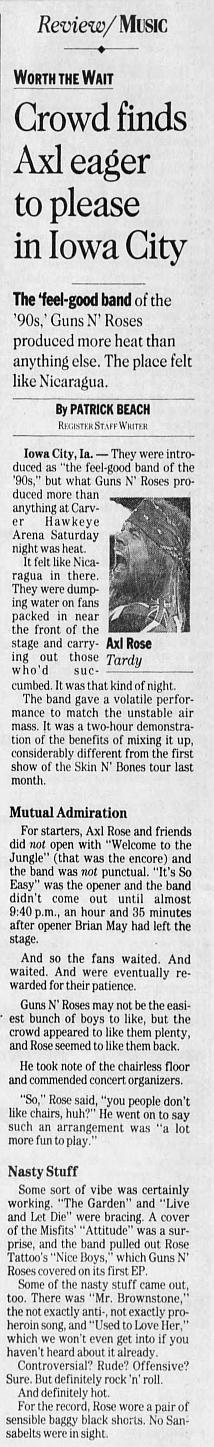1993.03.20 - Carver-Hawkeye Arena, Iowa City, USA 1993_023