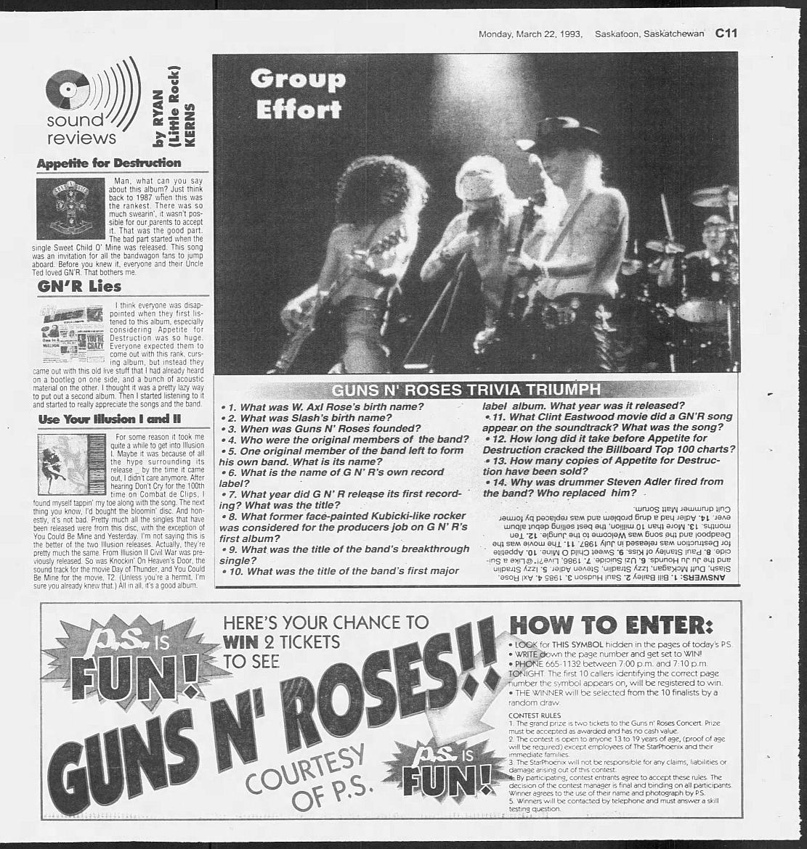 1993.03.26 - Saskatchewan Place, Saskatoon, Canada 1993_035