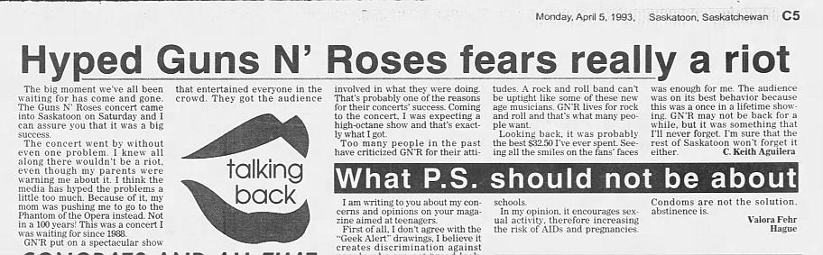1993.03.26 - Saskatchewan Place, Saskatoon, Canada 1993_055