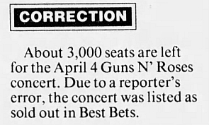 1993.04.04 - Lawler Events Center, Reno, USA 1993_059