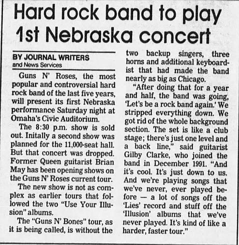 1993.04.10 - Omaha Civic Auditorium, Omaha, USA 1993_080