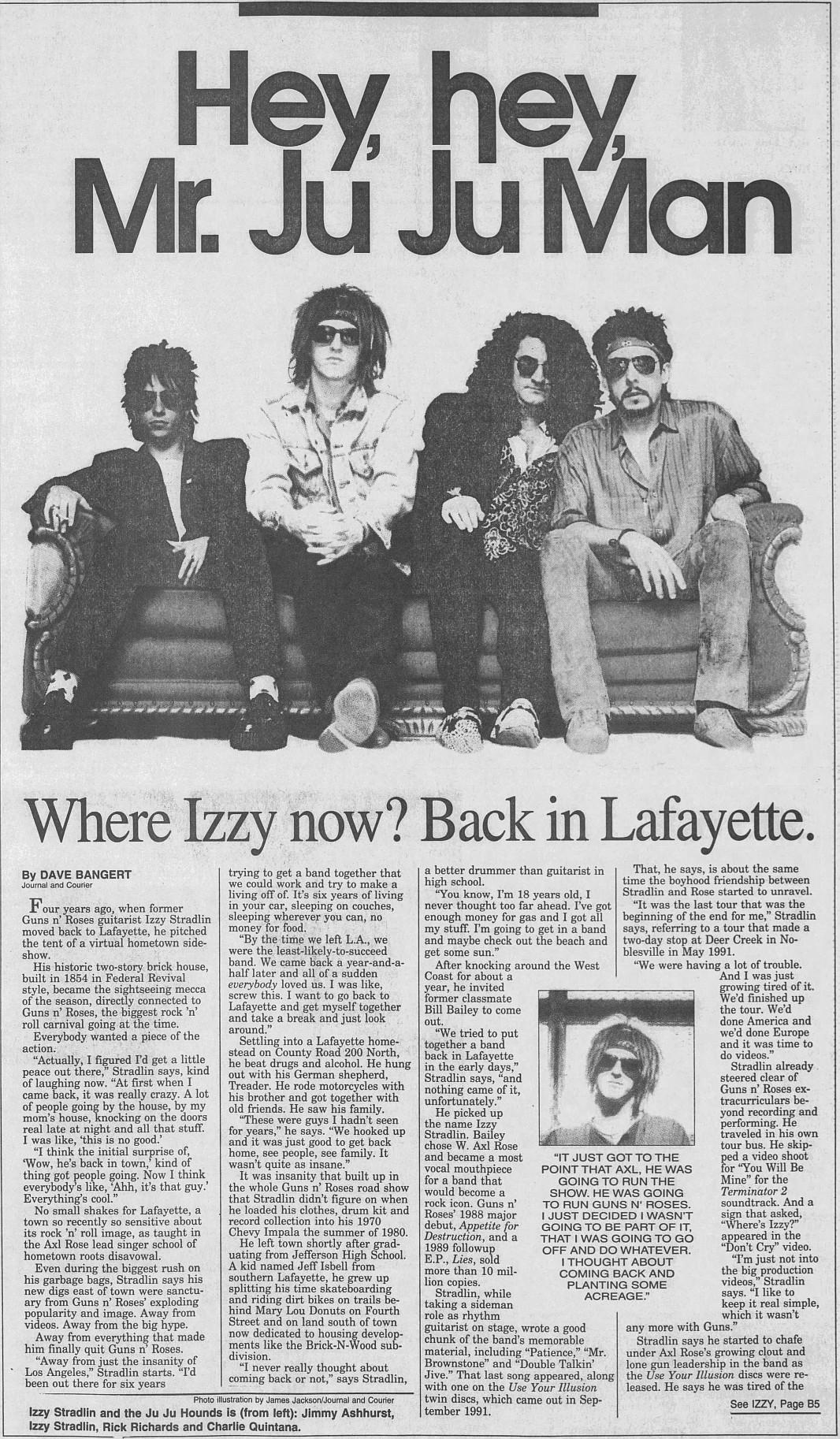 1993.02.21 - Journal And Courier - Hey, hey, Mr. Ju Ju Man (Izzy) 1993_086