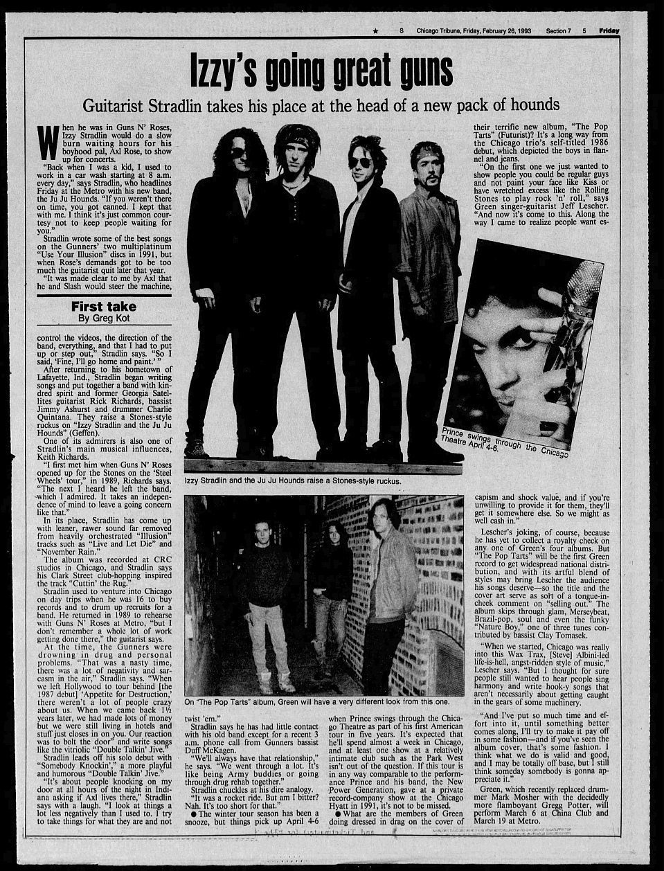 1993.02.26 - Chicago Tribune - Izzy's Going Great Guns 1993_087