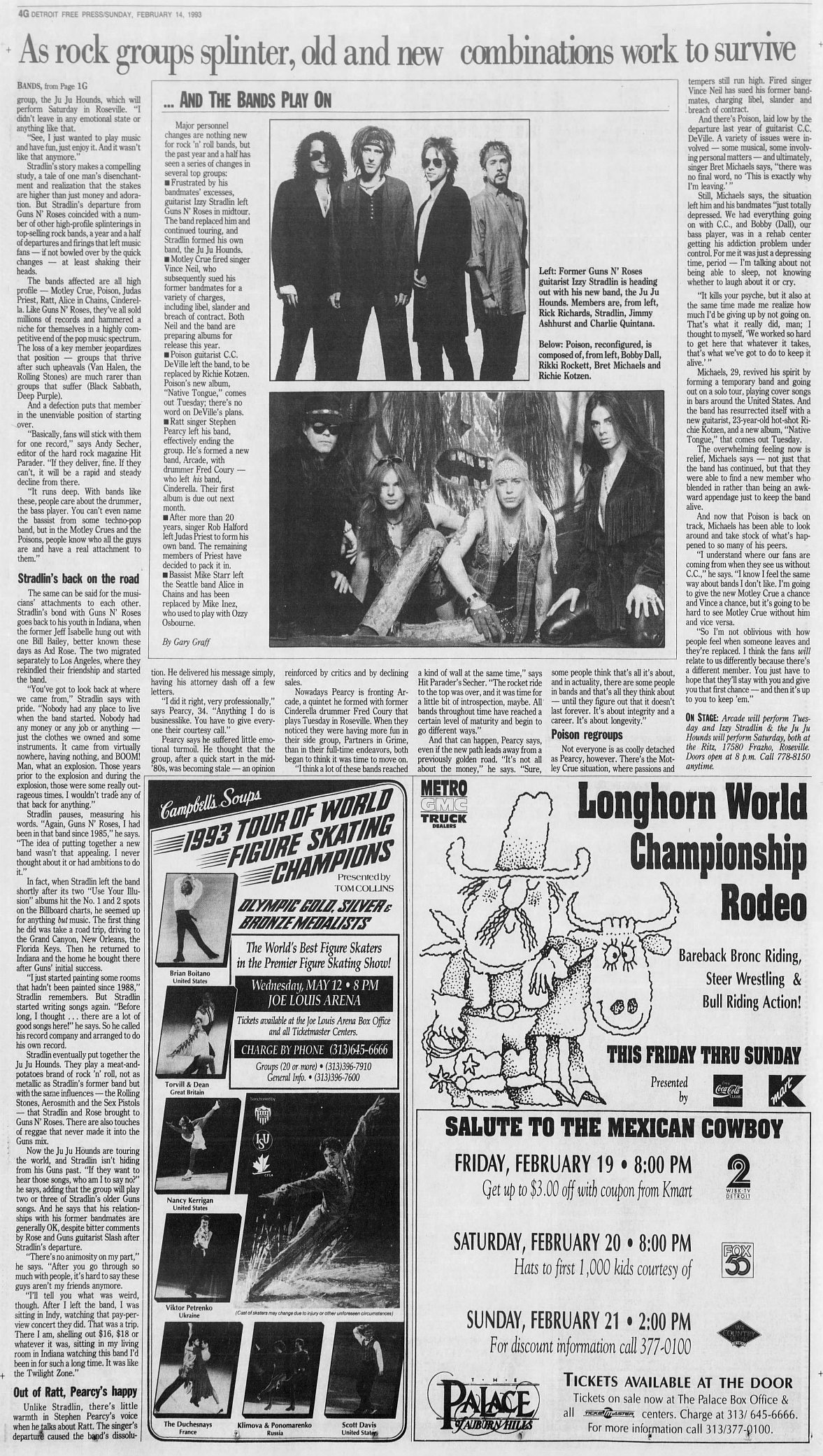 1993.02.14 - Detroit Free Press - Bands splinter, churn, go back to work (Izzy) 1993_095