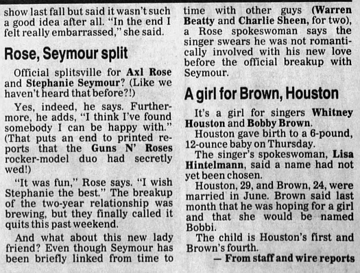 1993.03.05 - The Daily Journal - Rose, Seymour split 1993_103