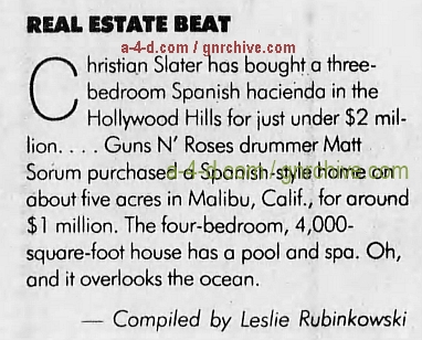 1993.10.31 - Pittsburgh Post Gazette - Real Estate Beat (Matt) 1993_141