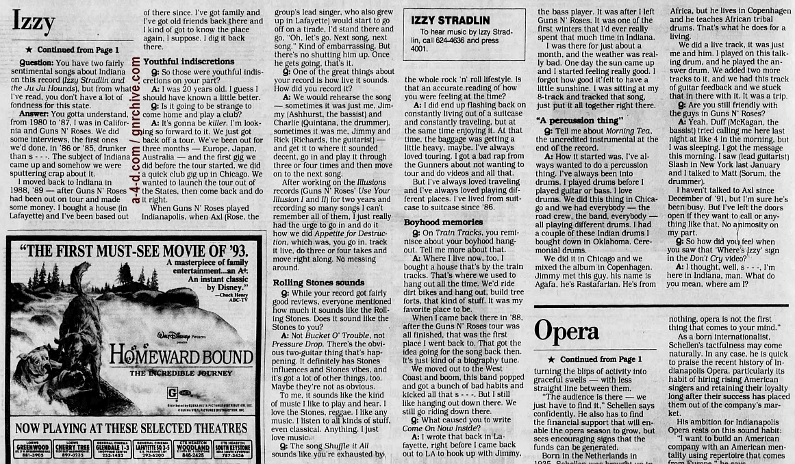 1993.02.21 - The Indianapolis Star - No Stradlin' From Izzy 1993_171