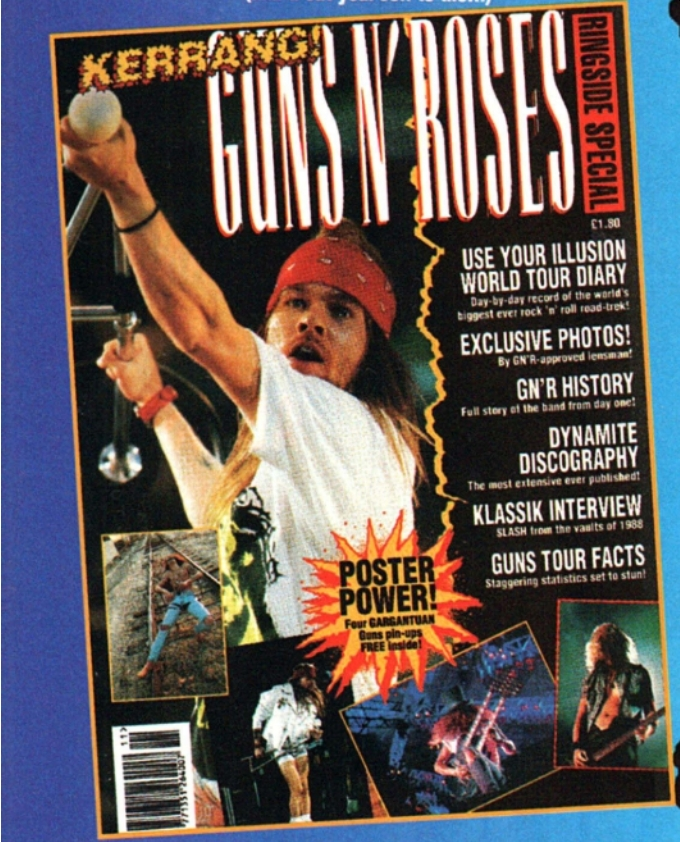 GN'R Use Your Illusions Tour Diary - Where did it come from? 1993_184