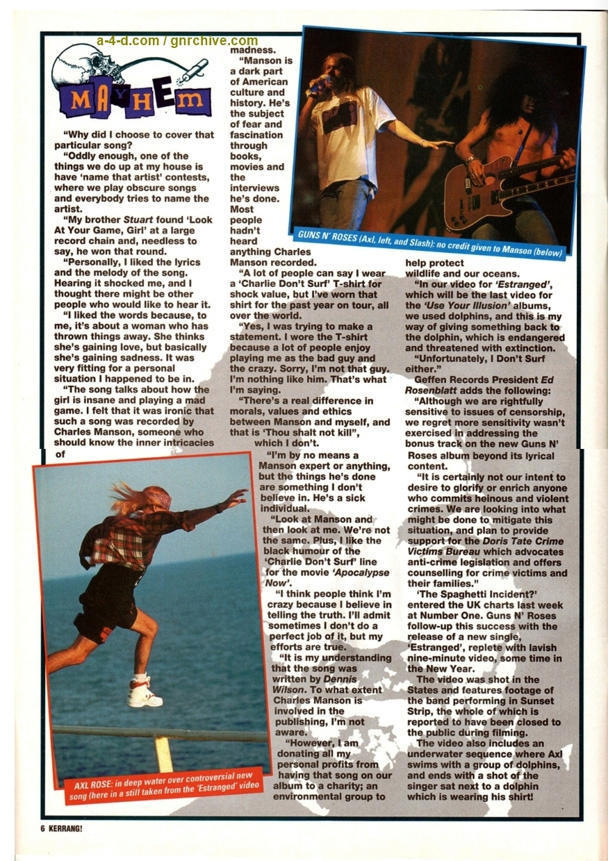 1993.12.11 - Kerrang! - Axl: The Truth About Manson 1993_186